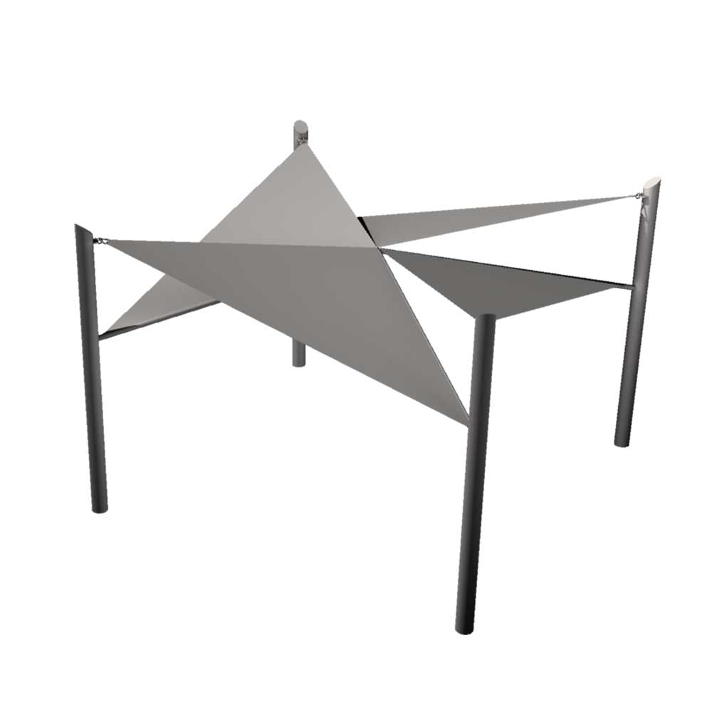 Molino style structure by Tensoshade™