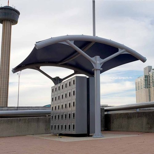 photo of custom shade structure