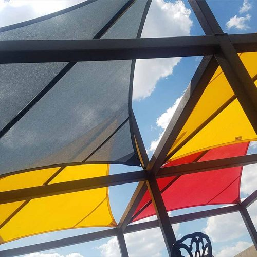 photo of Prisma shade structure