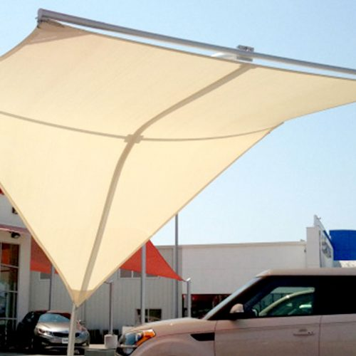 photo of Stingray™ style structure by Tensoshade™