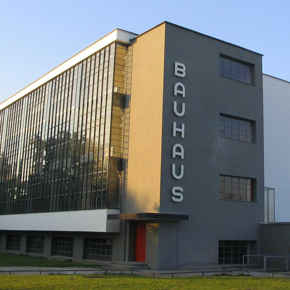 photo of Bauhaus building