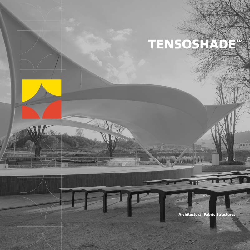 Tensoshade™ digital brochure cover