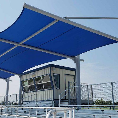 photo of Horizon™ Full style structure by Tensoshade™